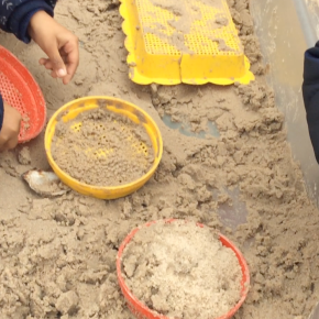 Playing in sand though, have you triedit?
